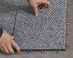 interlocking carpeted floor tiles available in fort frances ontario