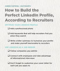 Build A Good Resume How To Build The Perfect Linkedin Profile According To