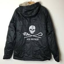 Mens Faux Fur Lined Fleece Thick Heavy Lumberjack Jacket