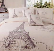 Queen Bed Size Doona Quilt Cover Set MA Cherie Paris Eiffel Tower ... & Queen Bed Size Doona Quilt Cover Set MA Cherie Paris Eiffel Tower Logan &  Mason | Quilt, Masons and Paris Adamdwight.com
