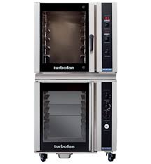 electric convection oven on a 8 tray