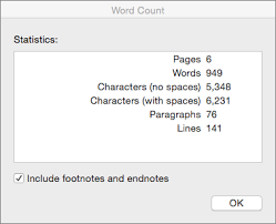 word essay counter show the word count and more in word for mac office support