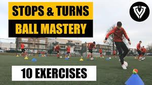 Football Training | Stops & Turns | 10 Exercises | Thomas Vlaminck -  YouTube | Soccer drills for kids, Soccer training, Soccer workouts