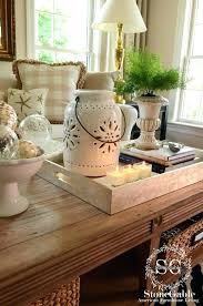 coffee table decor items coffee table coffee table decor for ottoman tray ideas how within