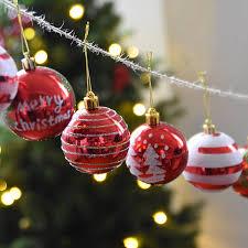 Weihnachtsschmuck Weihnachtskugeln Helle Bemalten Ball