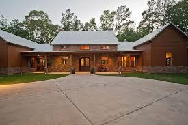 image of best u shaped ranch house