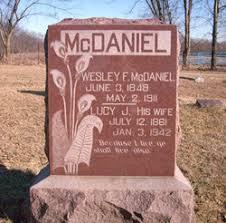 Wesley Franklin McDaniel (1849 - 1911) - Genealogy