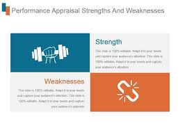 Strengths Weaknesses Performance Appraisal Strengths And Weaknesses Ppt Slide