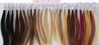 Human Hair Color Chart Products Qingdao Eclacehair Co Ltd