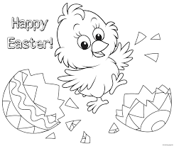 Easter Colouring Pages To Colour Online Free Christmas And Happy
