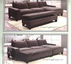 sofa with ottoman chaise. Perfect With Chaise Sofa With Storage Ottoman Costco Intended With I