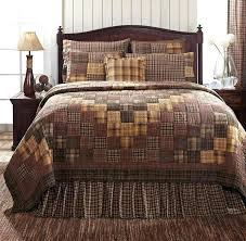 Rustic Country Quilts Full Size Of Rustic Quilt Bedding Bedding ... & ... 7pc Prescott Primitve Cabin Lodge Quilt Shams Skirt Pillow Cases Bed  Set Vhc Rustic Country Quilt ... Adamdwight.com