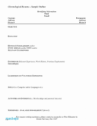 Procedure Note Template Sample Chronological Resume Sample Sample Chronological