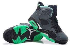 jordan shoes 2015 for girls. girls air jordan 6 retro cool grey turbo green black for cheap sale 2015-3 shoes 2015 l