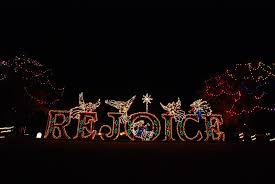 Chisholm Trail Park Christmas Lights Christmas In The Park Is The Largest Drive Thru Light Show