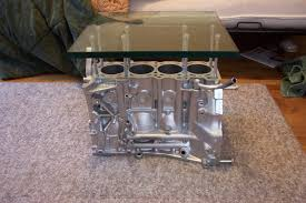 honda engine block coffee table for living room furniture