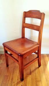 vintage wood desk chair company school by on office restoration hardware