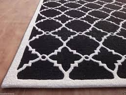 new black and white area rugs with rug outstanding best jeannerapone com