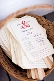 Wedding Program Fans Cheap 19 Wedding Hacks To Make Every Brides Life Easier Wedding