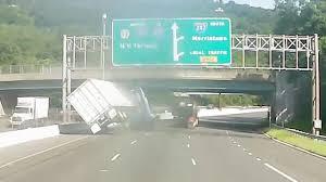 Video Shows Tractor Trailer Overturn In Alleged Road Rage Crash
