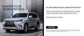 Sterling McCall Lexus | Houston Luxury Car Dealership Serving Houston TX