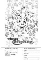 Kleurwedstrijd Winter Efteling December 2005