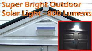 super bright outdoor solar light 48 led 800 lumens