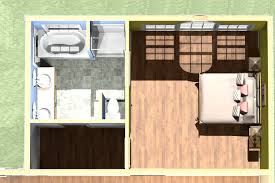 image of master suite addition floor plans layout