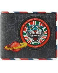 gucci wallet for men. gucci | night courrier gg supreme wallet lyst for men