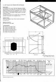 Cerwin Vega Box Design Diagram Plans Pro Audio Speaker Cabinet Design