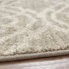 12 x 15 karastan machine woven area rug potterton willow grey natural cotton contemporary area rugs by world bazaar