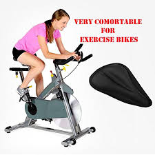 exercise bike gel seat cover durable