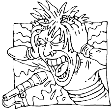 Small Picture Rock star coloring pages screamo singer coloring pages rock