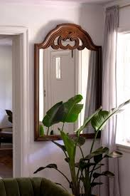 how to hang a heavy mirror with a