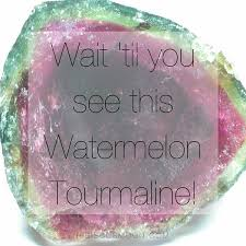 i am so excited to tell you all about watermelon tourmaline share my new watermelon crystal treasure with you in this vid
