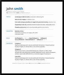 Best Free Resume Software Free Resume Templates Best Template Sites 24 Downloadable For 24 2