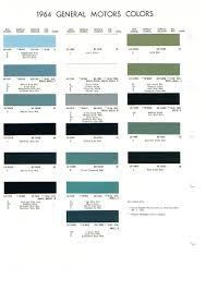 1965 Pontiac Color Chart Pontiac Paint Charts Main Reference Page By Tachrev Com