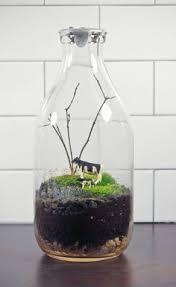 Milk Bottle Decorating Ideas 100 Crafty Ways to Use Milk Bottles Starbucks glass bottles Milk 29