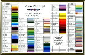 Effetre Color Chart Arrow Springs Moretti Effetre Color Chart Lampwork Beads