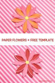 Paper Flower Cricut Template Paper Flower Cricut Template Magdalene Project Org