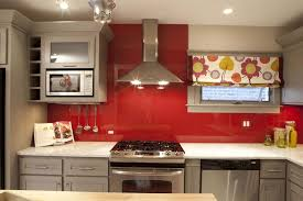dreamwalls color glass mars red solid backpainted glass backsplash