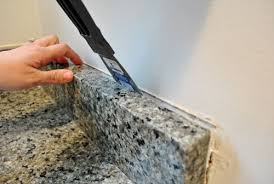 Granite With Backsplash Best Removing The Side Splash Backsplash From Our Bathroom Sink Young