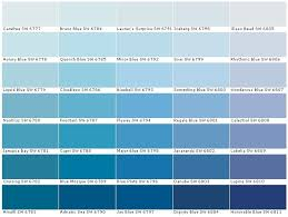 ... Best 25 Paint Color Swatches Ideas On Pinterest Colour Of House  throughout Different Shades Of Blue ...
