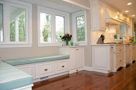Image of: Kitchen Bench Seating with Storage