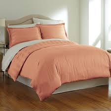 pima cotton reversible duvet set