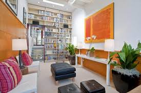 Orange Decorating For Living Room Decorating Orange Narrow Informal Living Room Decorating Ideas For