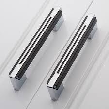 furniture handles. 160mm black silver simple fashion furniture handles chrome kitchen cabinet wardrobe door dresser pulls-in pulls from home s