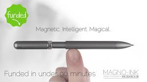 The World's Most Intelligent Magnetically Energised Pen.