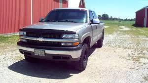 Chevy Silverado rough country level kit mickey thompson ATZ black ...