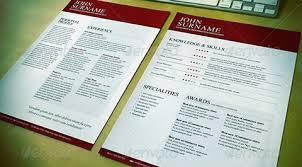 Modern Typographic Resume Set Resume Templates And Designs That Get Job Interviews